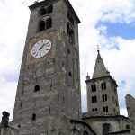 Aosta, Val d'Aosta. Autore e Copyright Marco Ramerini