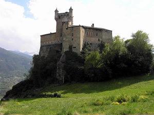 Castello di Saint-Pierre, Val d'Aosta. Autore e Copyright Marco Ramerini