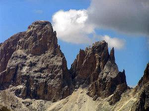 Dolomiti, Trentino-Alto Adige e Veneto. Autore e Copyright Marco Ramerini..,