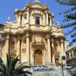 La Chiesa di San Domenico, Noto, Siracusa, Sicilia. Autore e Copyright Marco Ramerini