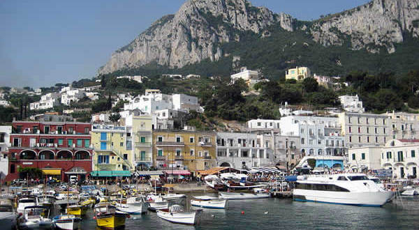 Marina Grande, Capri, Campania. Autore Sean William. No Copyright