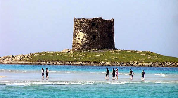 Spiaggia della Pelosa, Stintino, Sardegna. Autore e Copyright Marco Ramerini