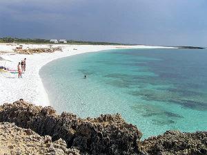 Spiaggia di Is Aruttas, Cabras, Sardegna. Autore e Copyright Marco Ramerini