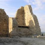 L'interno del Castello di Marmilla, Las Plassas, Sardegna. Autore e Copyright Marco Ramerini