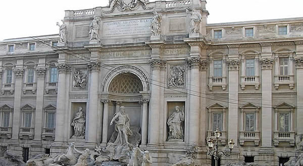 Fontana di Trevi, Roma, Italia. Autore e Copyright Marco Ramerini.