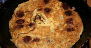 Omelette alla provenzale. Autore WikiXP. Licensed under the Creative Commons Attribution