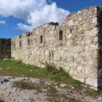 Resti di fortificazioni austriache, Monte Specie, Dolomiti, Italia. Autore e Copyright Marco Ramerini