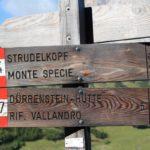 Sentiero del Monte Specie, Dolomiti, Italia. Autore e Copyright Marco Ramerini