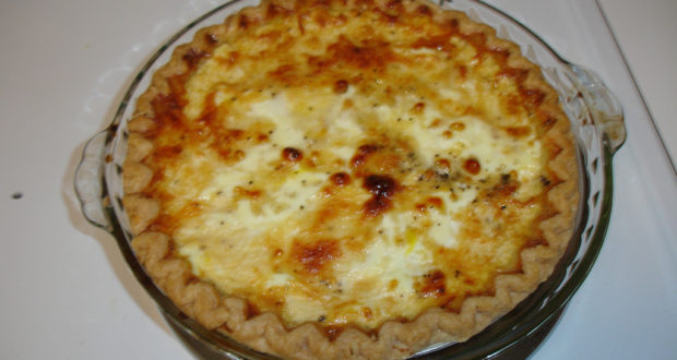Quiche Lorraine. Autore Shawn Rossi. Licensed under the Creative Commons Attribution