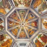 Affresco di Luca Signorelli, Basilica della Santa Casa, Loreto, Marche. Autore Web Gallery of Art. No Copyright