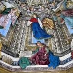Fresque de Melozzo da Forli, Basilique de la Sainte Maison, Lorette (Loreto), Marches. Auteur Peter Geymayer. No Copyright