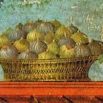 Fresque d'un panier de figues, Villa de Poppée, Oplontis, Campanie, Italie. No Copyright