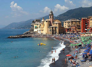 Camogli, Ligurie. Auteur Markus Bernet. Licensed under the Creative Commons Attribution