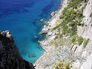 Capri, Campania. Author lafoudre1523