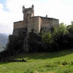 Château de Saint-Pierre, Val d'Aoste. Auteur et Copyright Marco Ramerini