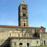 Église de Santa Trinita di Saccargia, Codrongianus, Sardaigne. Auteur et Copyright Marco Ramerini