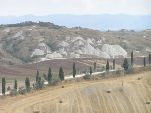 Crete Senesi, Siena. Author and Copyright Marco Ramerini.