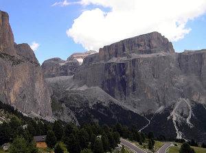 Dolomites, Trentin-Haut-Adige et Vénétie. Auteur et Copyright Marco Ramerini..