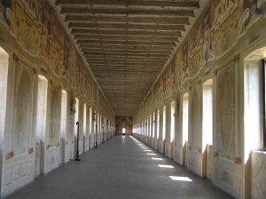 Galleria degli Antichi, Palazzo del Giardino, Sabbioneta, Mantova, Lombardia. Autore e Copyright Marco Ramerini