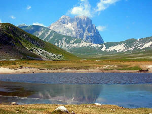 Gran Sasso, Abruzzes. Auteur Idéfix. Licensed under the Creative Commons Attribution