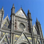 Le Duomo, Orvieto, Terni, Ombrie. Auteur et Copyright Marco Ramerini