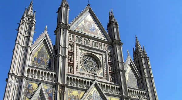 Il Duomo, Orvieto, Terni, Umbria. Autore e Copyright Marco Ramerini
