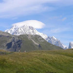 Mont Blanc, Col du Petit-Saint-Bernard, Val d'Aoste. Auteur et Copyright Marco Ramerini