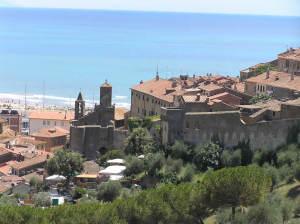Le village médiéval de Castiglione della Pescaia, Grosseto. Author and Copyright Marco Ramerini