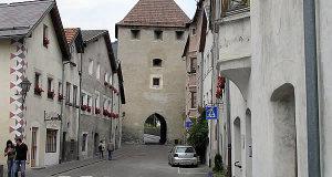 Porte de Malles, Glorenza-Glurns, Trentin-Haut-Adige. Auteur et Copyright Marco Ramerini