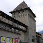 La Porta di Tubre e il camminamento lungo le mura, GlorenzaGlurns, Trentino-Alto Adige. Autore e Copyright Marco Ramerini