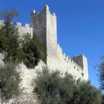 La forteresse de Castiglione del Lago, Ombrie. Auteur et Copyright Marco Ramerini