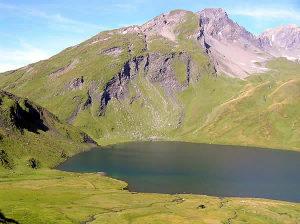 Lago Verney, Colle del Piccolo San Bernardo, Vale de Aosta. Autor e Copyright Marco Ramerini