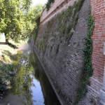 Les murs de Sabbioneta, Mantoue, Lombardie. Auteur et Copyright Marco Ramerini