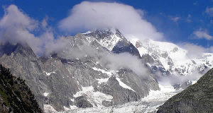 Mont Blanc, Val d'Aoste. Auteur et Copyright Marco Ramerini