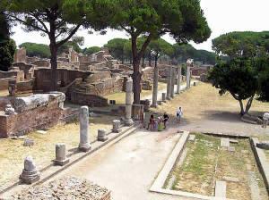 Ostia Antica, Roma, Lazio. Autore e Copyright Marco Ramerini