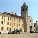 Paroissiale de Santa Maria Assunta, Piazza Ducale, Sabbioneta, Mantoue, Lombardie. Auteur et Copyright Marco Ramerini