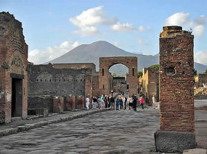Pompei, Campânia. Autor General Cucombre. Licensed under the Creative Commons Attribution-Share Alike