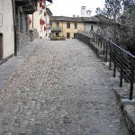 Ponte romano, Aosta, Valle d'Aosta. Autore e Copyright Marco Ramerini