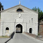 Porta Imperiale, Sabbioneta, Mantoue, Lombardie. Auteur et Copyright Marco Ramerini