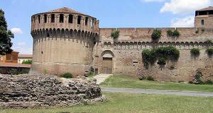 Rocca Sforzesca, Imola, Émilie-Romagne. Auteur et Copyright Marco Ramerini