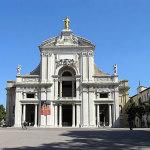 Santa Maria degli Angeli, Assise, Ombrie. Auteur et Copyright Marco Ramerini