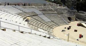 Teatro Greco, Siracusa, Sicilia. Autore e Copyright Marco Ramerini