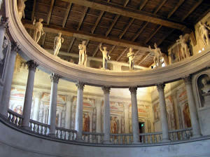 Théâtre, Sabbioneta, Mantoue, Lombardie. Auteur et Copyright Marco Ramerini