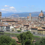 Vue de Piazzale Michelangelo, Florence, Toscane. Author and Copyright Marco Ramerini