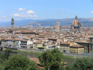 Vue de Piazzale Michelangelo, Florence. Author and Copyright Marco Ramerini