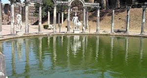 Villa d'Hadrien, Tivoli, Latium. Auteur et Copyright Marco Ramerini