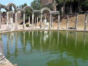 Hadrian's Villa, Tivoli, Lazio. Author and Copyright Marco Ramerini