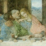 Cenacolo Vinciano, Refettorio del convento di Santa Maria delle Grazie, Milano. Autore Leonardo da Vinci. No Copyright..