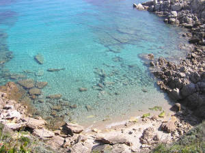 Cala Spinosa, Capo Testa, Santa Teresa di Gallura, Sardaigne. Auteur et Copyright Marco Ramerini