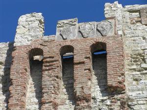 Castello del Leone, Castiglione del Lago, Úmbria. Autor e Copyright Marco Ramerini.